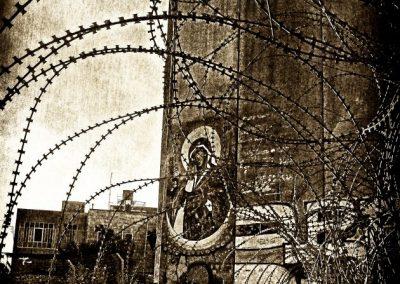 Nicola Zaccaria La Vergine che abbatte le mura, 2011